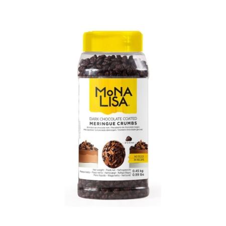 Cukrowe Mini Bezy w Ciemnej Czekoladzie - 450g – Mona Lisa