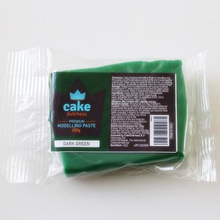 Masa cukrowa do modelowania Cake Dutchess - Ciemnozielona 250g
