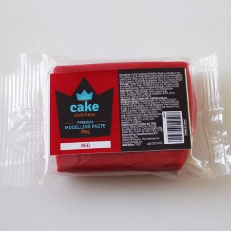 Masa cukrowa do modelowania Cake Dutchess - Czerwona 250g