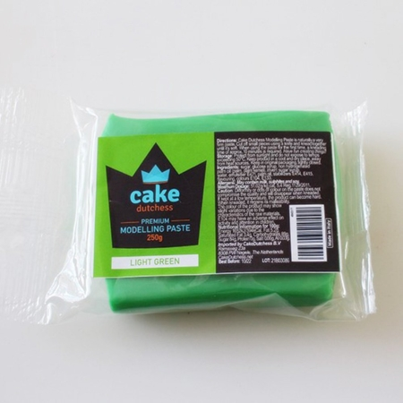 Masa cukrowa do modelowania Cake Dutchess - Jasnozielona 250g