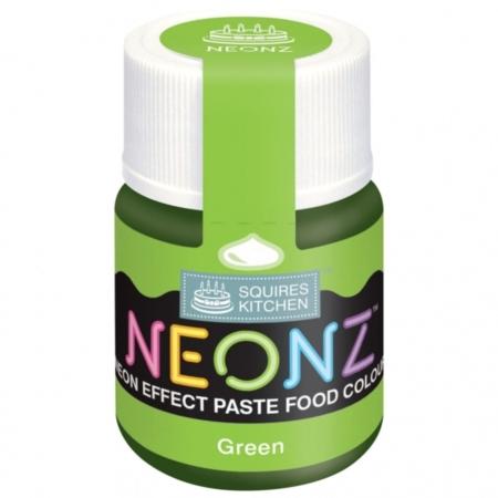 Neonowy Barwnik Spożywczy w żelu Squires Kitchen Neonz Green (20g)