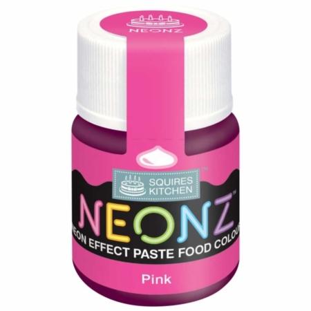Neonowy Barwnik Spożywczy w żelu Squires Kitchen Neonz Pink (20g)