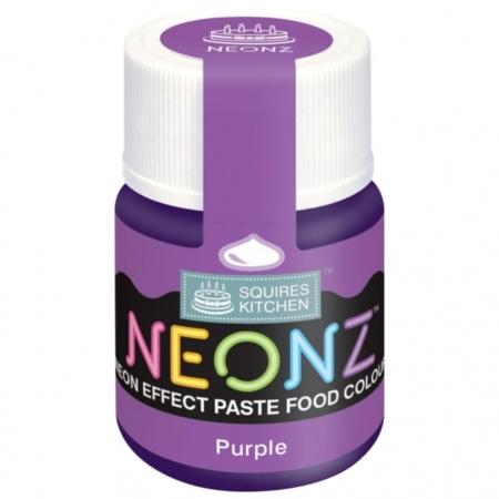 Neonowy Barwnik Spożywczy w żelu Squires Kitchen Neonz Purple (20g)