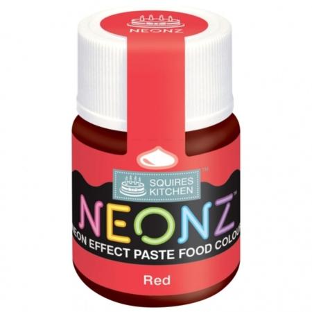 Neonowy Barwnik Spożywczy w żelu Squires Kitchen Neonz Red (20g)