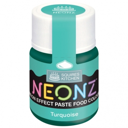 Neonowy Barwnik Spożywczy w żelu Squires Kitchen Neonz Turquoise (20g)