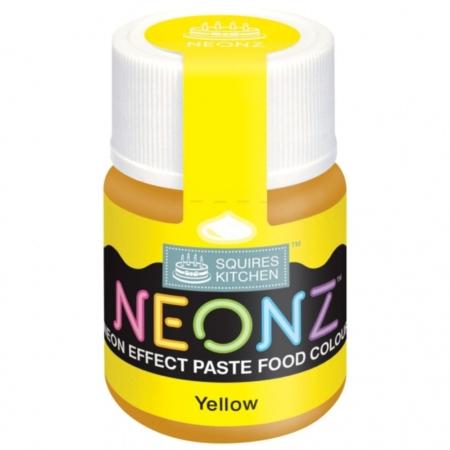 Neonowy Barwnik Spożywczy w żelu Squires Kitchen Neonz Yellow (20g)