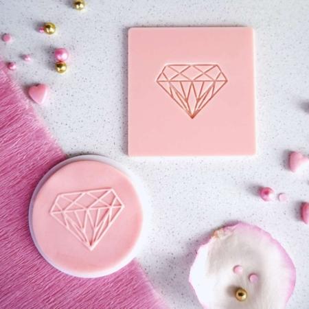 Stempel Dekoracyjny - Diament - Miniowe Formy