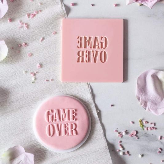 Stempel Dekoracyjny - GAME OVER - Miniowe Formy