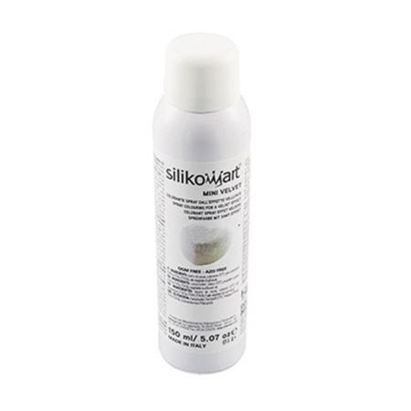 Zamsz w sprayu biały 150 ml - Silikomart