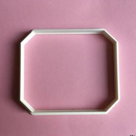 Wykrawaczka do stempli dekoracyjnych - ETYKIETA 15 - Miniowe Formy