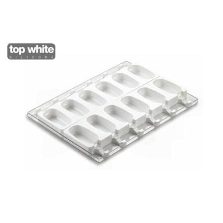 Forma silikonowa do lodów Classic - 9,3x4,9cm - 2x6 szt. - Silikomart