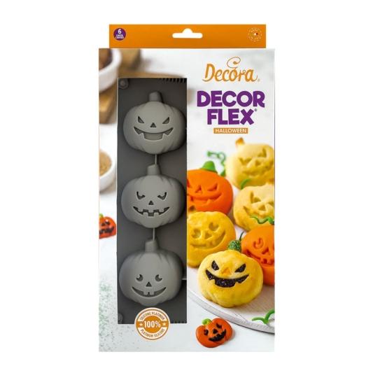 Silikonowa forma Dynia Halloween - ø 6,5 cm - Decora